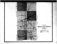 Mille Lacs County Outline Map - Below, Mille Lacs County 1914 Microfilm